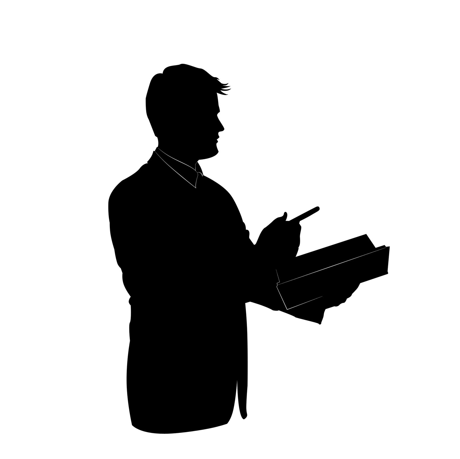 Here clipart male teaching #6