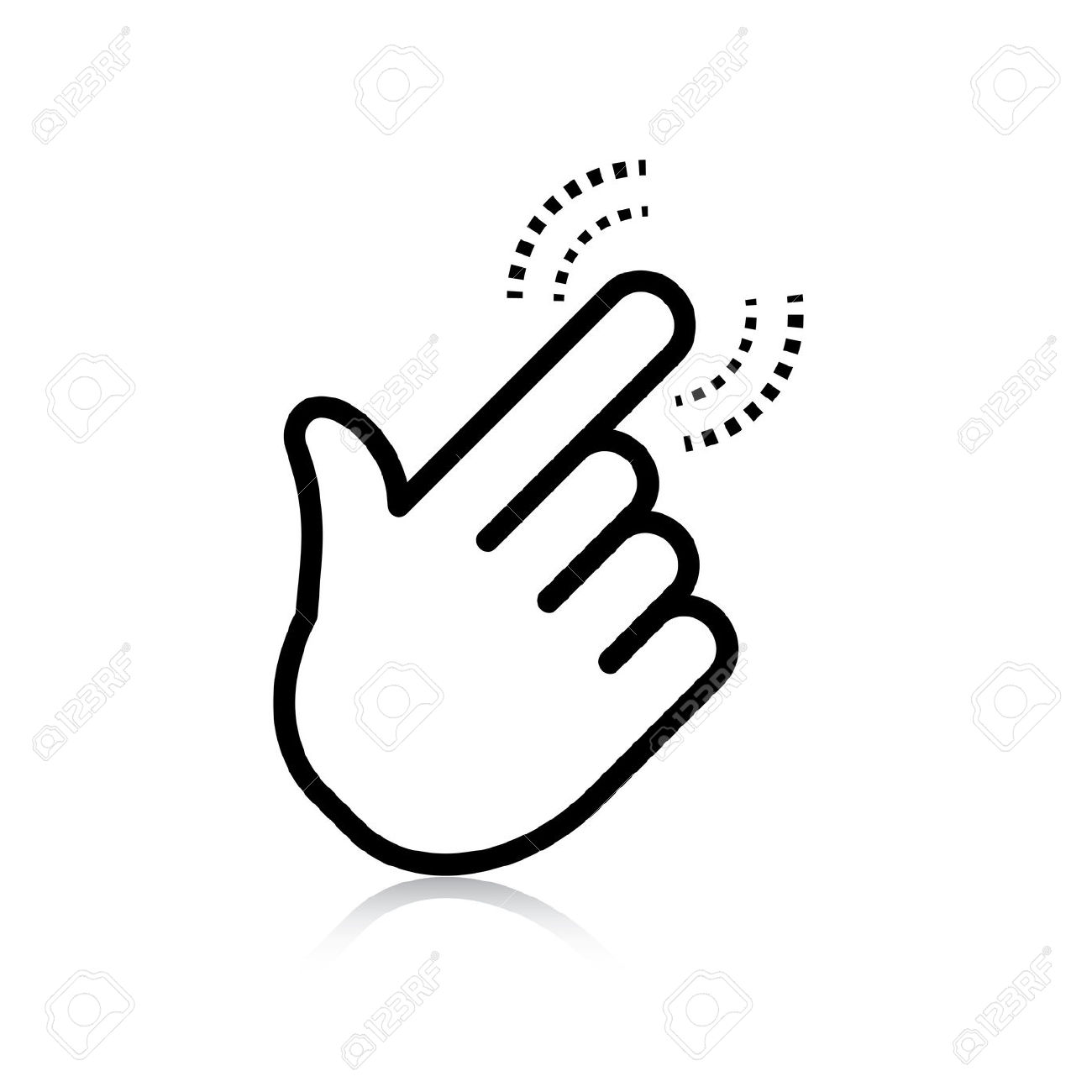 Pointer clipart finger touch Clipart BBCpersian7 hand pointing clipart