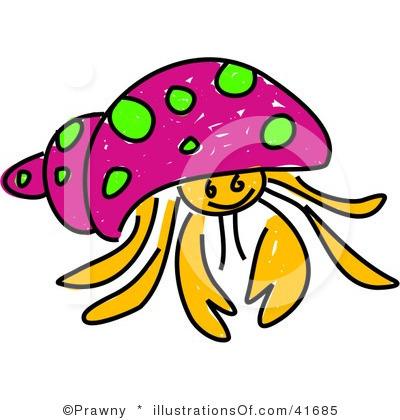 Hermit Crab clipart #3