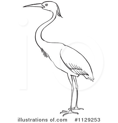 Brds clipart crane Illustration Clipart by (RF) #1129253