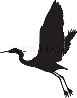 Blue Heron clipart Images 178 tattoos Pinterest silhouette