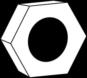 Hexagon clipart black and white Hexagon cliparts Clipart Bolt Hexagon