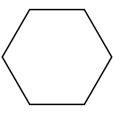 Hexagon clipart black and white Download Clipart Clipart Hexagon Hexagon
