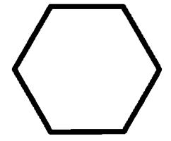 Hexagon clipart black and white Art Download Hexagon Hexagon Clip