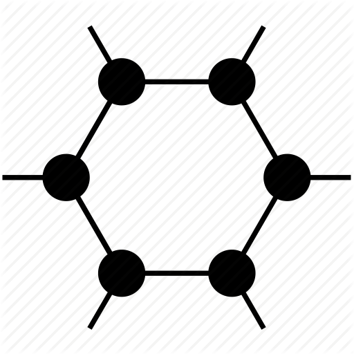 Hexagon clipart chemistry Chemical hexagon graphene  pharmacy
