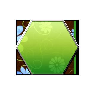 Hexagon clipart green Uiscrollview programatically  with programatically