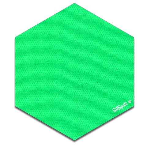 Hexagon clipart green Hexagons – SitSpots Green Bright