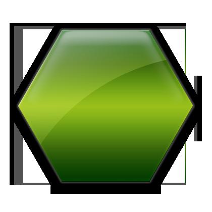Hexagon clipart green #019274 Icons #019274 » Etc