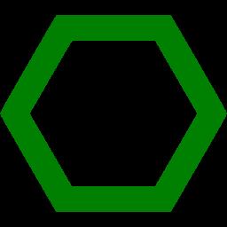 Hexagon clipart green Icons icon green icon Free
