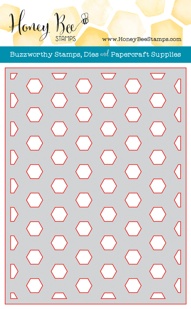Hexagon clipart honey Honey Base Honey Cuts Plate