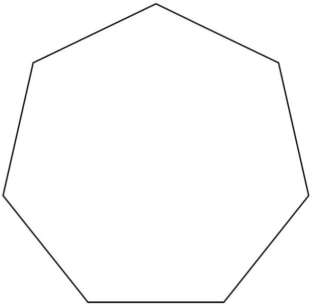 Hexagon clipart pentagon shape Clip Worksheets Preschool Panda »