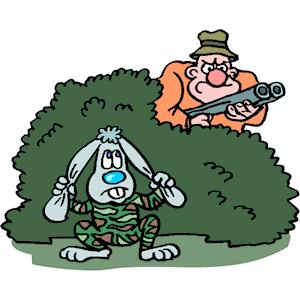 Hiding clipart Clipart cliparts png (wmf Rabbit