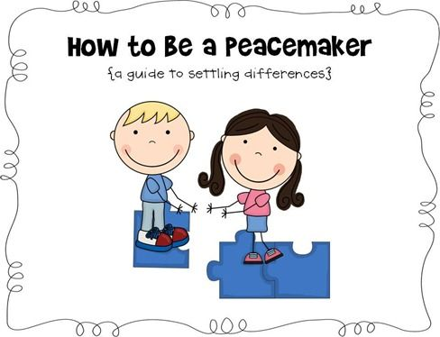 Alone clipart conflict resolution Fillers will Best Resoultion/Bucket Peacemaker/breaker