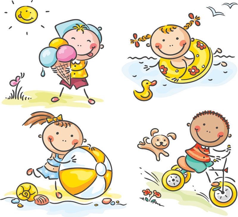 Outside clipart outdoor play Free Free Summer Summer Clip