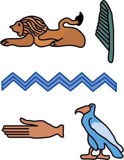 Hieroglyphs clipart Hieroglyphic Hieroglyphs Classroom jpg :