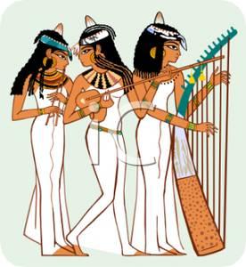 Hieroglyphs clipart cartoon Hieroglyphs Free Picture Instruments Women