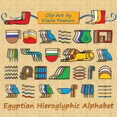 Hieroglyphs clipart egyptian cat #15