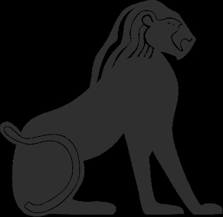 Hieroglyphs clipart egyptian cat #8