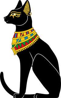 Hieroglyphs clipart egyptian cat #3