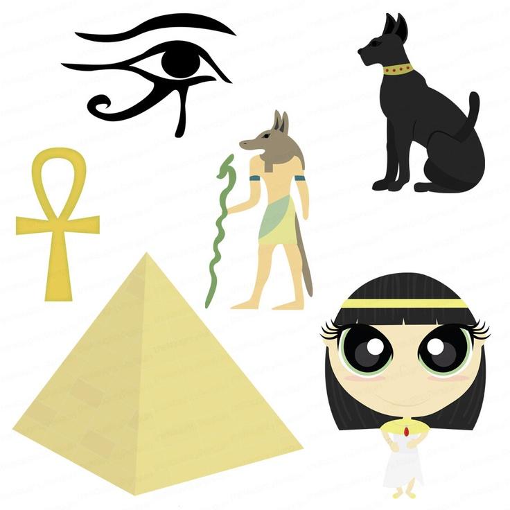 Hieroglyphs clipart egyptian cat #6