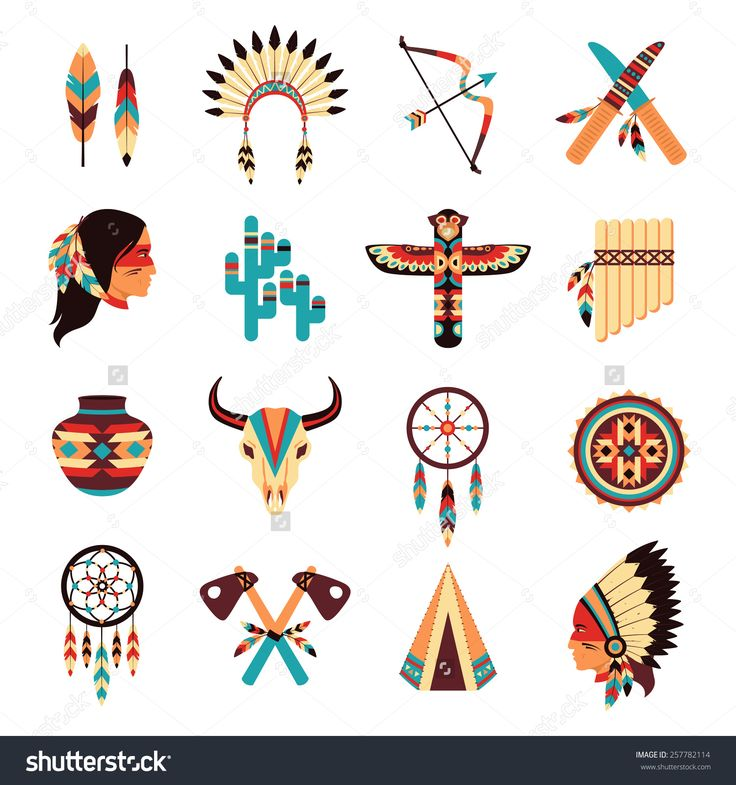 Native American clipart person sewing Native abstract idigenous amulets ideas