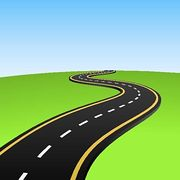 Highway clipart road traffic Art Free Panda Clip Free