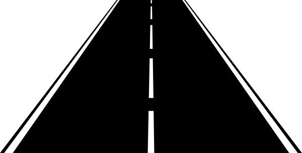 Highway clipart asphalt paving Highway vector commercial art Abadr