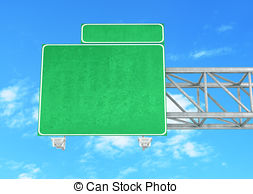 Highway clipart blank Illustrations  Blank Art sign