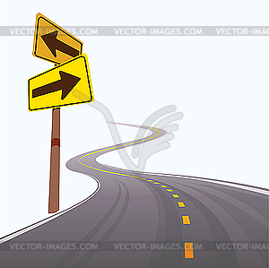 Highway clipart distance #10