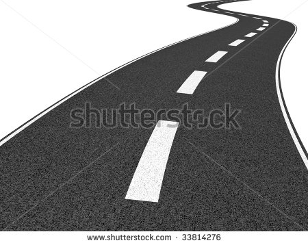 Highway clipart distance #4