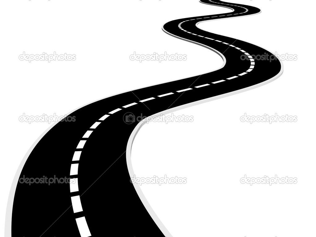 Asphalt clipart windy road Road Clipart Free Road Clipart