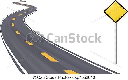 Highway clipart lane #3