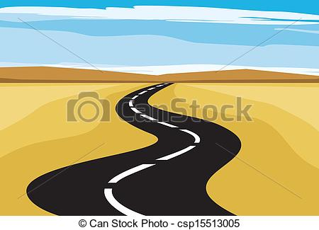 Highway clipart logo Of highway Search Art csp15513005