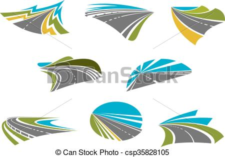 Highway clipart pathway Pathway  of and Highway