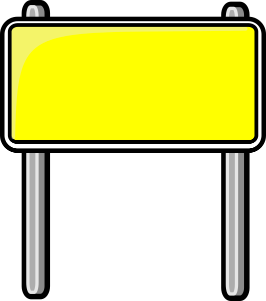 Highway clipart road sign Signs  Collection Clipart art