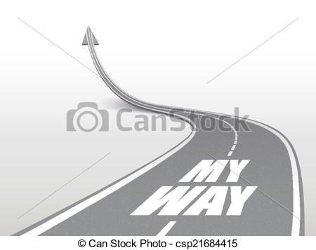 Highway clipart road track #5