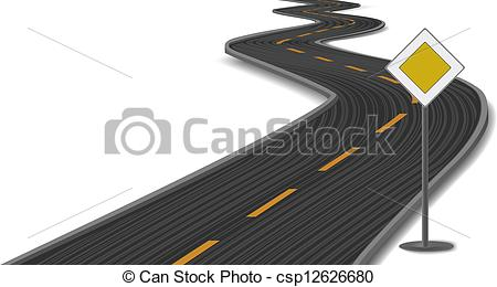 Highway clipart road track #3