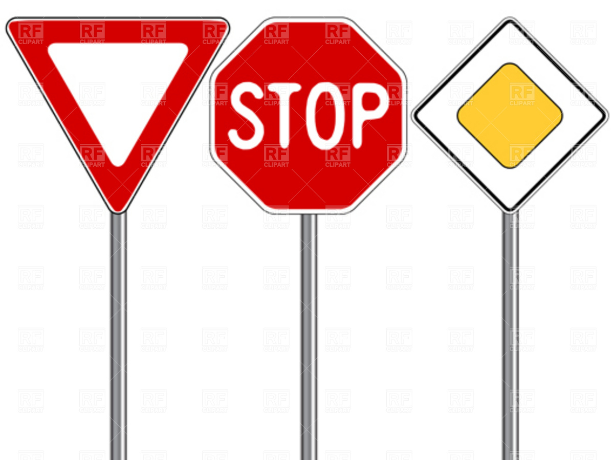 Highway clipart road traffic Signs Clipart Of Clip Art