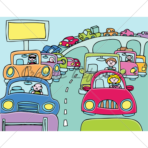 Highway clipart traffic jam Images In Jam Stuck GL