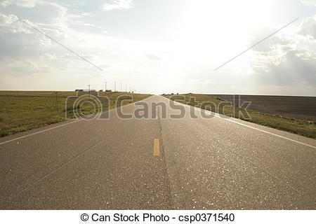 Highway clipart wide road Road Photo Stock  road