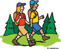 Hiking clipart camping gear Free kid Clipart clipart Hiking