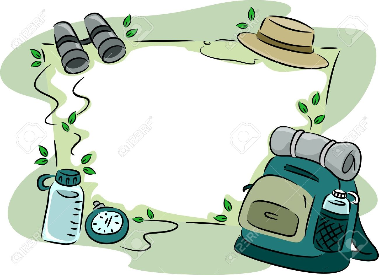 Hiking clipart camping gear Art clip Hiking gear Gallery
