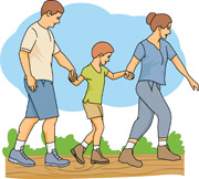 Hiking clipart family hike Bag Outdoors Search Pictures hiker