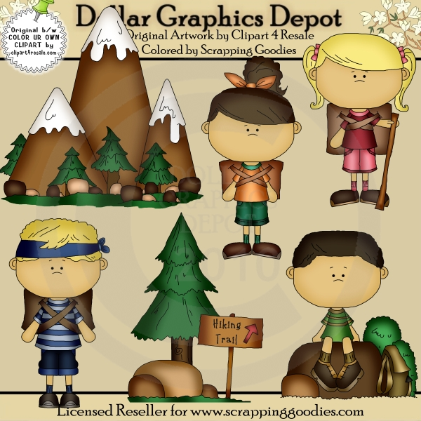 Hiking clipart hiking trail Quality Dollar Camping Depot