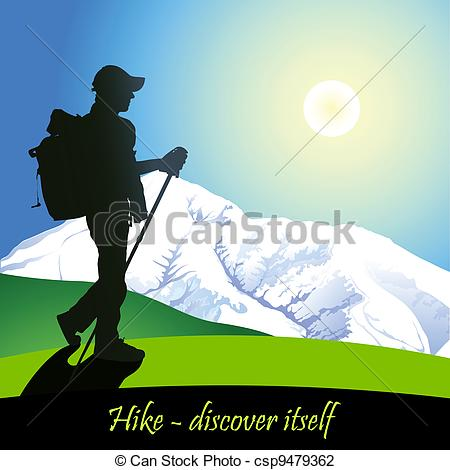 Summit clipart mountain trekking Hike  6 Hiking in
