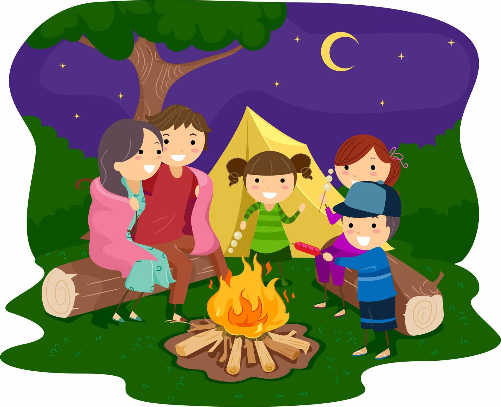 Hiking clipart kid campfire  The the Herald Chronicle