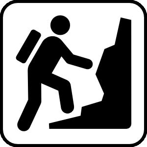Hiking clipart logo Clip Clipart Free Art Clipart