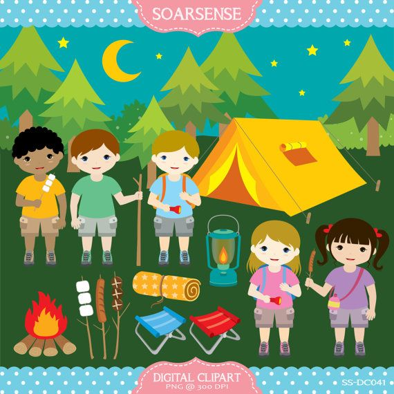 Camping clipart mountain hiking Best on Take Camping Gum
