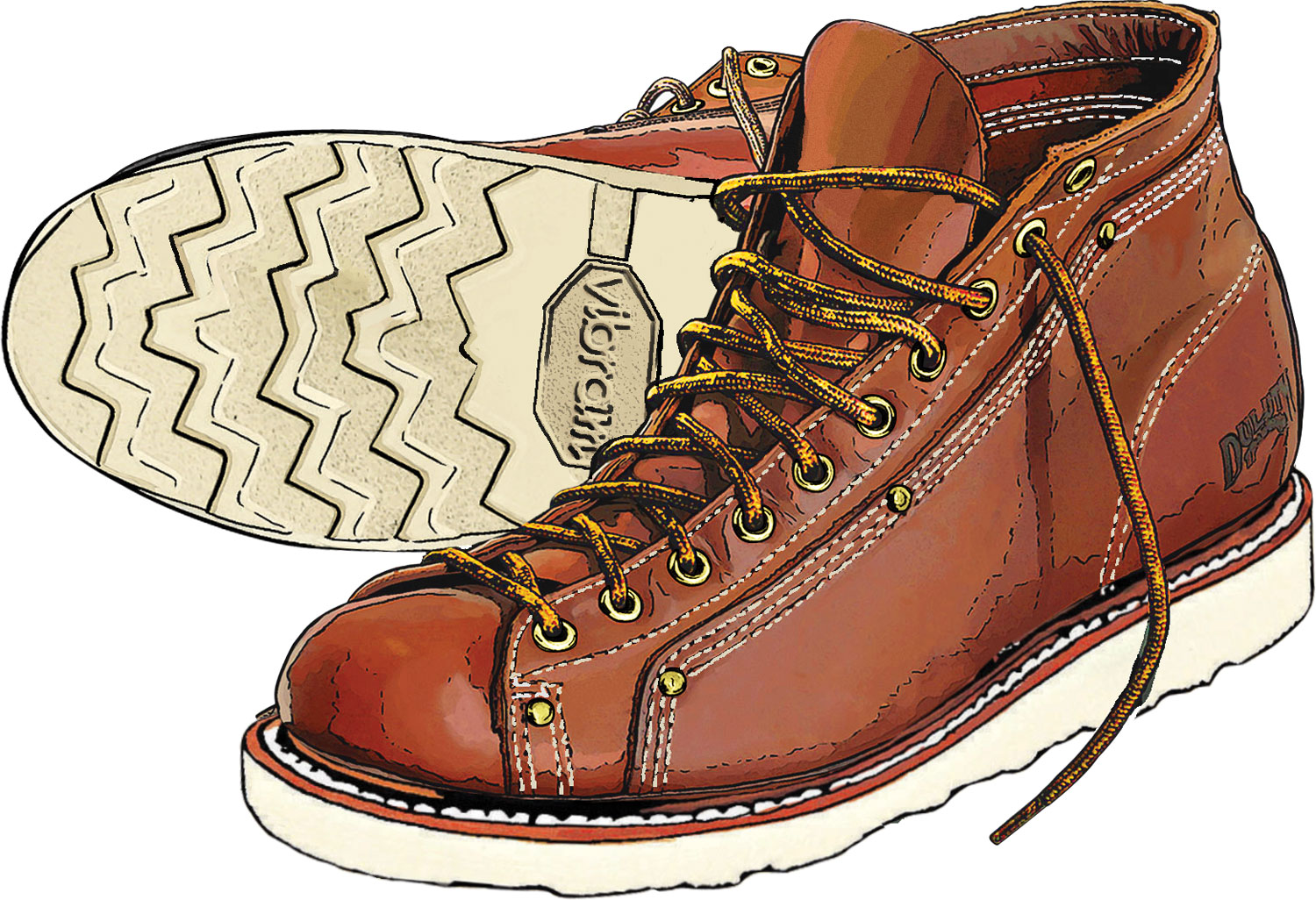 Roofer  Trading Contractor's Boots