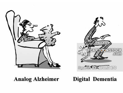From Alzheimer and cartoon pictures